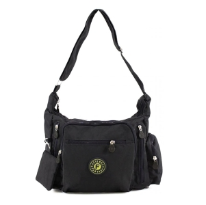 Women's Small Multipockets Cross Body Messenger Bag Shoulder