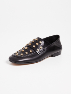 Feenie Convertible Loafers - Black/Dore