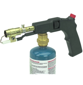 Portable Electric Start Propane Torch with Push Button Start