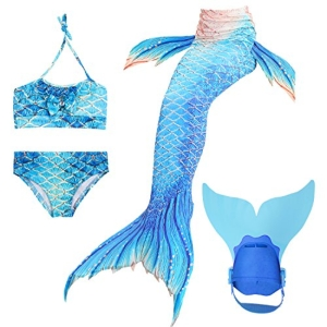 Hardking Mermaid Tails for Swimming with Monofin Mermaid Swi